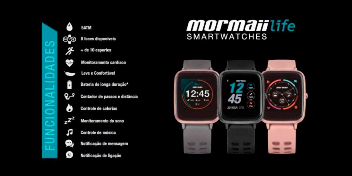 mormaii smartwatches